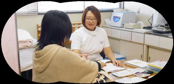 助産師による妊婦保健指導